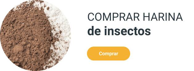 Comprar harina de insectos